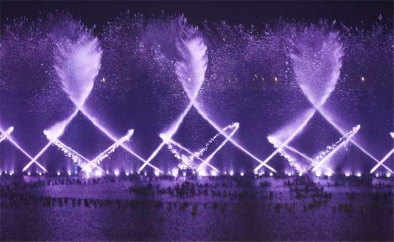亚洲最先进音乐喷泉郑州双鹤湖首秀